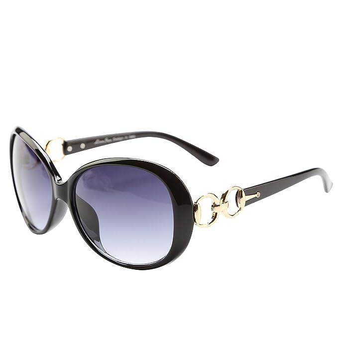 Amazon.com: Liansan anteojos de sol de moda para las mujeres ...