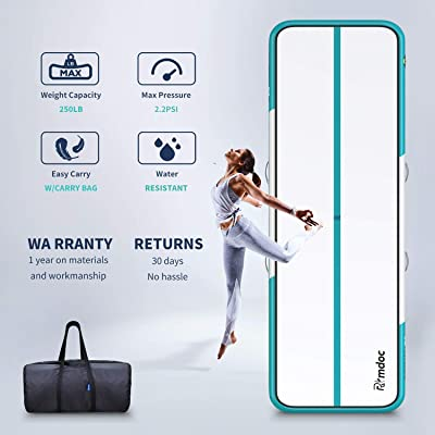 Buy Furgle Inflatable Air Gymnastics Mat Tumble Track Inflatable Gymnastic Mat Tumbling Track Mat For Gymnastics Yoga Cheerleading Mat With Pump Online In Indonesia B092sgf56h