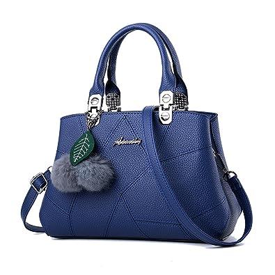 Charmore Women Top Handle Handbags Pu Leather Shoulder Messenger Bag Tote Purse: Handbags: Amazon.com