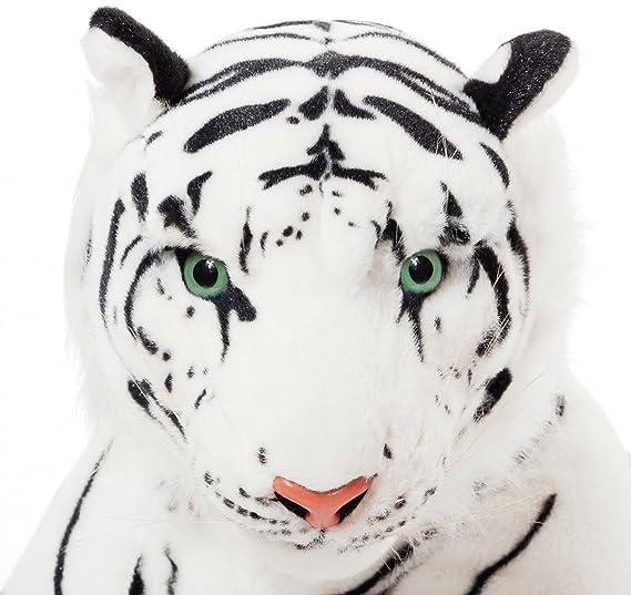 BRUBAKER - Peluche Tigre de Color Blanco de 110 Centímetros: Amazon.es: Juguetes y juegos