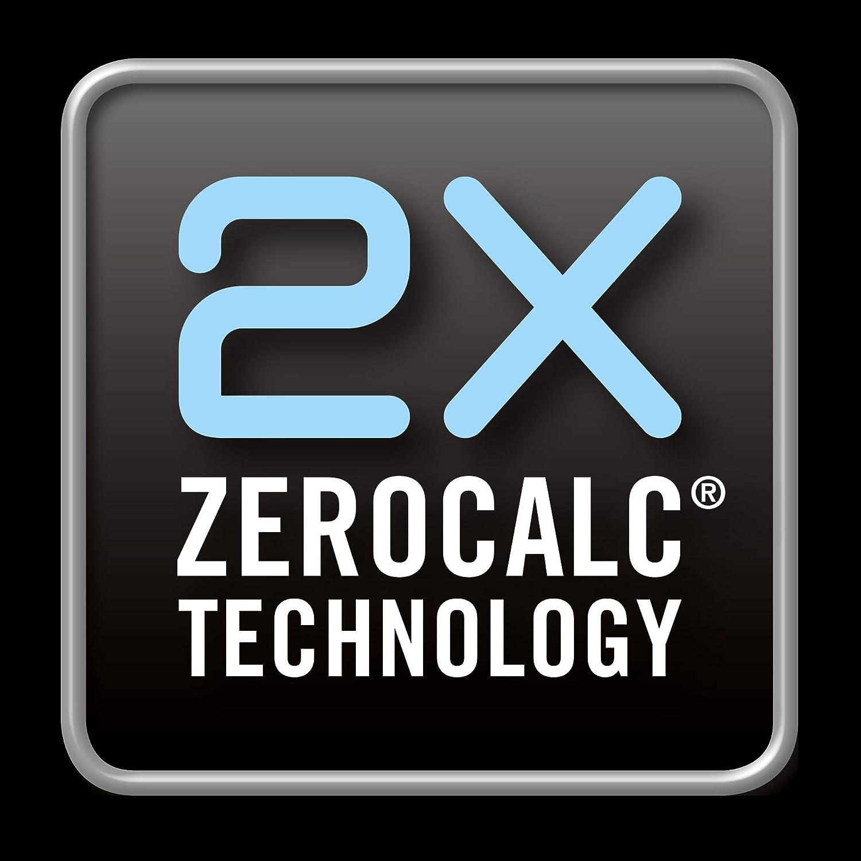 Piastra Ceramica ad Alta Scorrevolezza 2200W Colpo Vapore Tecnologia a Risparmio Energetico Imetec ZeroCalc Ferro da Stiro Z1 2800 con Tecnologia Anticalcare 130 g