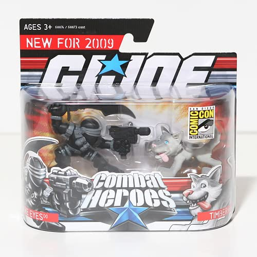 Joe Combat Heroes Storm Shadow Snake Eyes Conrad NEW in package G.I