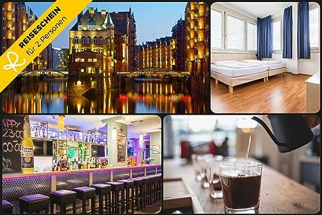 Vale de viaje – 2 días de vacaciones cortas en A&O Hamburgo City & 2 billetes para