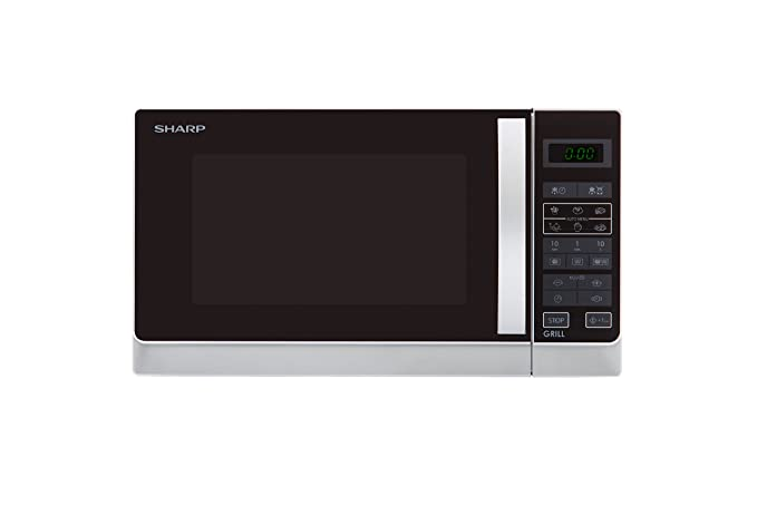 Amazon.com: Sharp r742inw Forno M/O 900 W 25lt C/grill 1000 ...