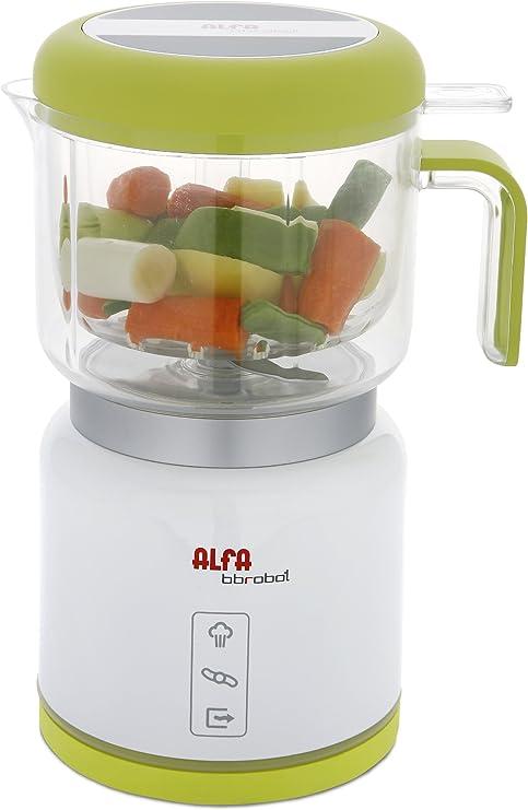Alfa BB Robot Cocina 7950 Bbrobot,Esteriliza, Color blanco: Amazon.es: Bebé