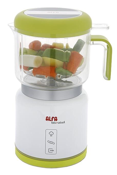 Superior Alfa Robot Cocina 7950 Bbrobot,Esteriliza, Color Blanco