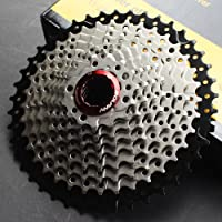 CYSKY 10-voudige cassette 11-42T MTB cassette 10 Speed Fit voor mountainbike, racefiets, MTB, BMX, SRAM, Shimano