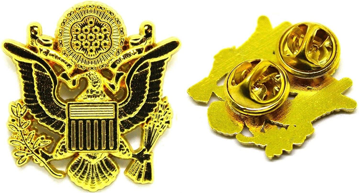 """Army Captain Hat Pin 1/"""""""