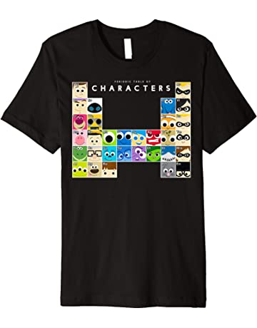 a1b4b15c6 Disney Pixar Movie Characters Periodic Table Graphic T-Shirt