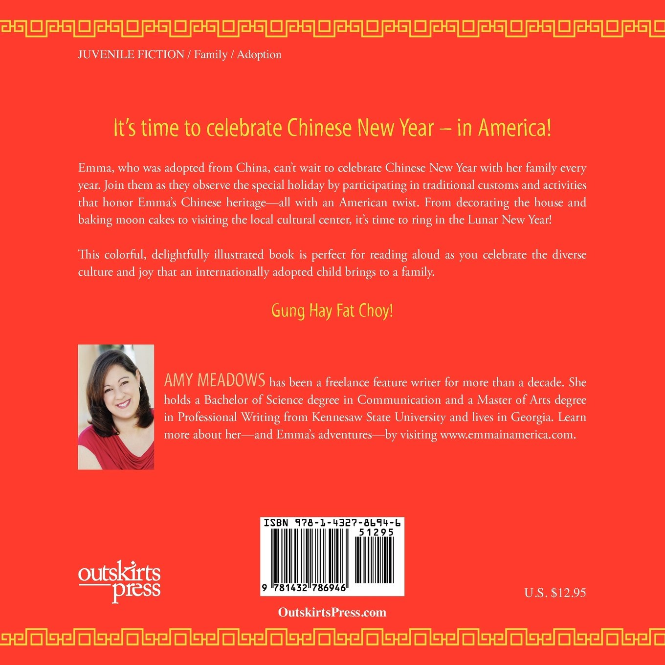 Emma's American Chinese New Year by Brand: Outskirts Press (Image #2)