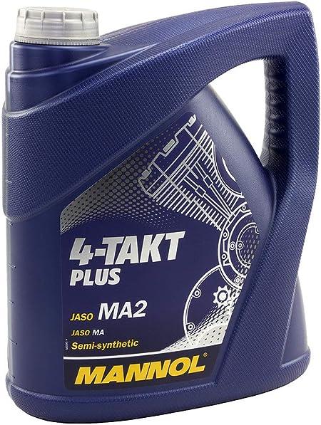 Mannol 4 Takt Plus Api Sl 4 Liter Auto