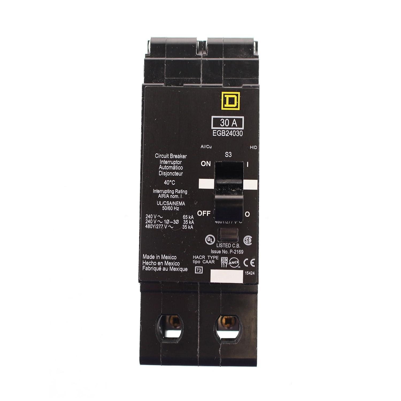 新しいSquare D egb24030 EGB回路ブレーカ2ポール30 A 277 / 480 V 35 KA B01D93KYS2