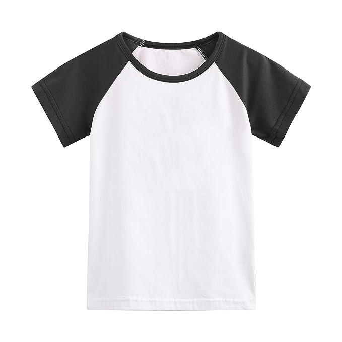 Amazon.com: Herbow - Camiseta de manga corta de algodón para ...