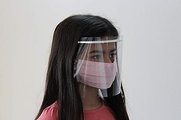 Pantallas de Proteccion Facial Niños (3-10 años), Mascara Protectora  Infantil, Plástico Protector, Viseras Protectoras Faciales, Caretas  Antivirus, Fabricadas en España (Pack 2 Unidades): Amazon.es: Salud y  cuidado personal