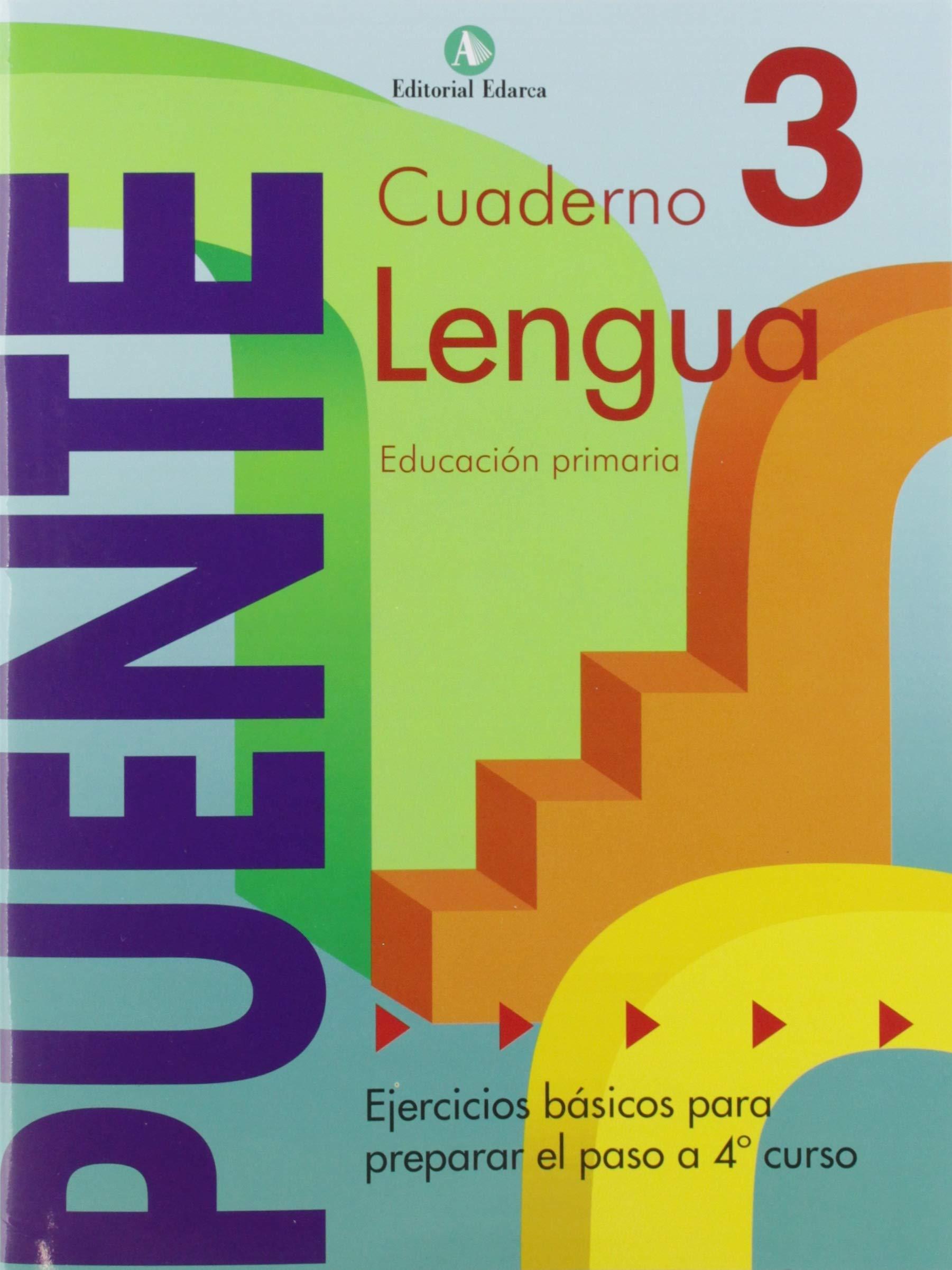 Cuaderno De Lenguaje. Puente 3º Curso Primaria. Ejercicios ...