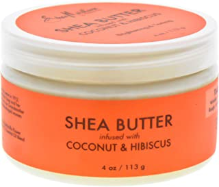 product image for Shea Moisture Coconut & Hibiscus Infused Shea Butter, 4 Ounce
