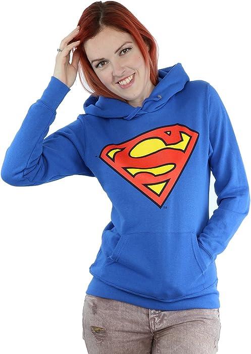 Donne Official Superman Con Felpa Cappuccio exCdrBo