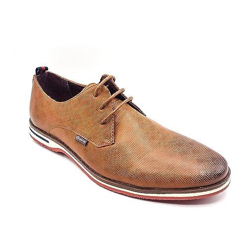 Zapatos para hombre, estilo clásico y formal, con cordones, de ante sintético, color, talla 44
