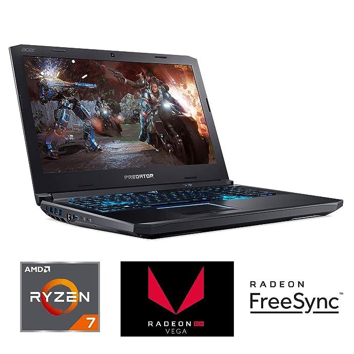 Acer 宏碁 Predator Helios 500 掠夺者 17.3英寸游戏笔记本电脑(R7-2700/16GB DDR4/256GB SSD/RX Vega 56)5.9折$1299 海淘转运到手约¥9407 中亚Prime会员免运费直邮到手约¥10737