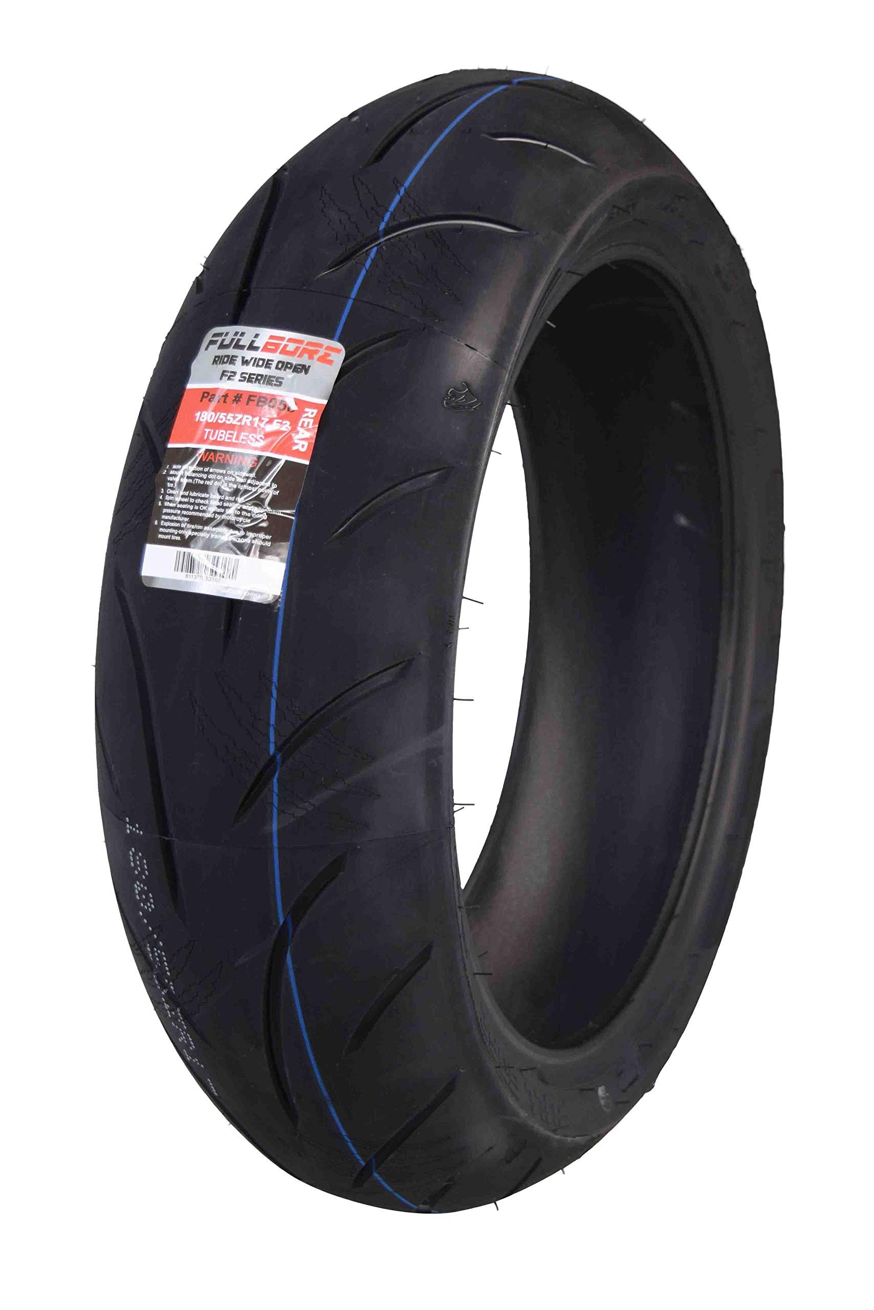 FullBore M-1 Street Sport Rear 180/55ZR17 Motorcycle Tire