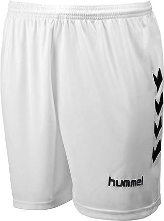 Hummel - Short CHEVRON Blanc / Noir Taille - S