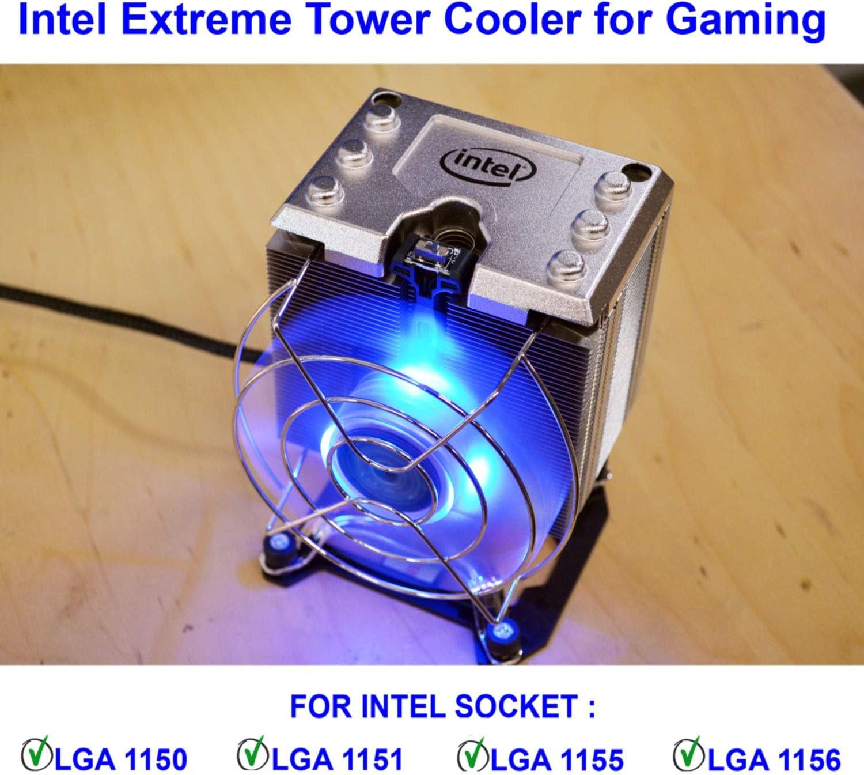 Intel Xts100h Extreme Tower Kühlkörper Für Gaming Sockel Lga1150 Lga1151 Lga1155 Lga1156 Computer Zubehör