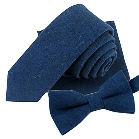 bellelove, Hombres Corbata conjuntos, 2018 Mode sólido color suave ...