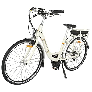 Onway 28 Inch 7 Speed Women City Electric Bike With