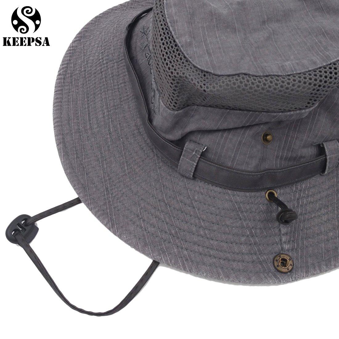 Cappello di pesca del cappelli della cinghia del ricamo del cotone delluomo  di estate Cappello del 621a258e6efc