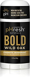 product image for Honestly pHresh Men's Prebiotic Natural Deodorant, Bold Wild Oak