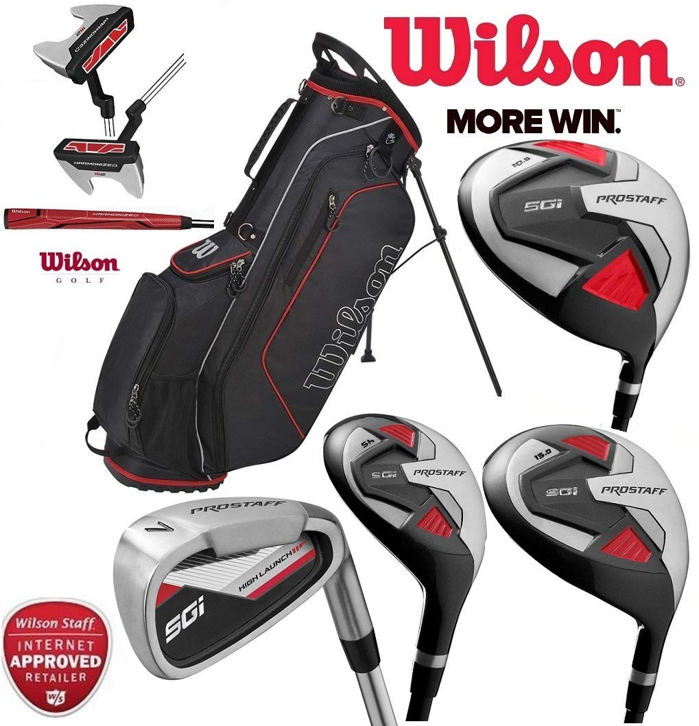 Wilson Prostaff HDX completo Golf Club Set grafito y 2018 ...