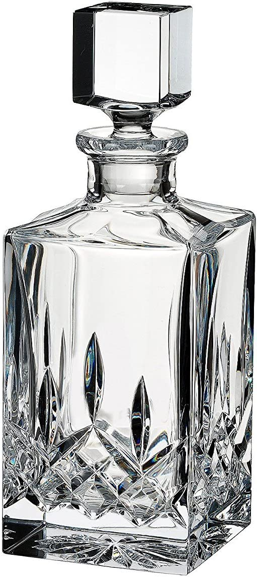 Amazon Com Waterford Lismore Square Crystal Decanter Liquor Decanters
