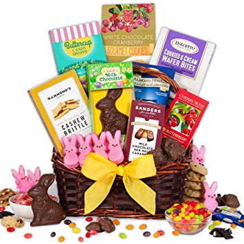 Easter sweets treats basket amazon grocery gourmet food easter sweets treats basket negle Image collections