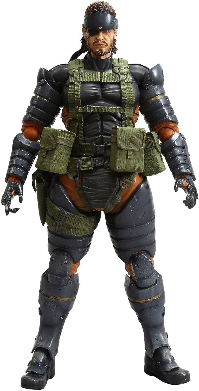 Metal Gear Solid: Peace Walker - Figura Play Arts Kai Volumen 4: Snake - Versión Battle Dress