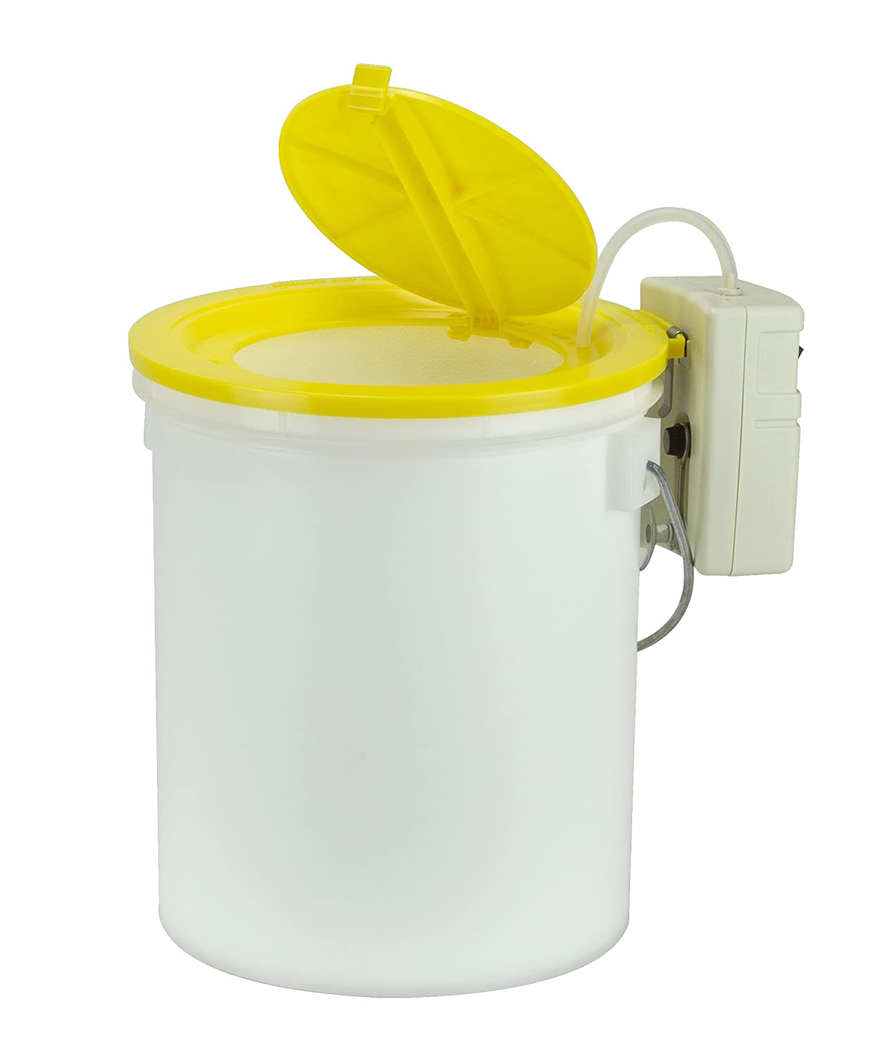 Frabill Insulated Aerated Minnow Bucket Foam Lined with Aerator, 8-Quart
