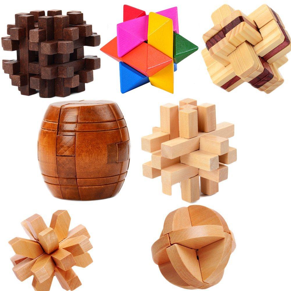 新しいブランド トレーニング3d木製Brain B077MXLVCC Teaserパズルゲーム、クリスマスギフト7種類 B077MXLVCC, スマホケースはケースbyケース:db8ceae3 --- clubavenue.eu