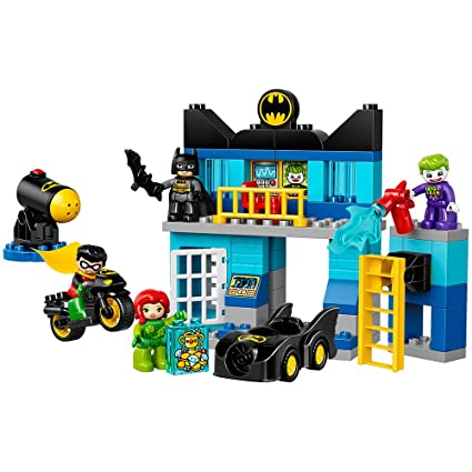 Buy LEGO DUPLO DC Comics Super Heroes Batman Batcave Challenge 10842 ...