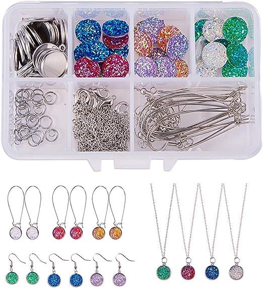 Set of 80 Earrings Hooks Backs Wire DIY Metal Jewelry Making Craft Supplies Lot