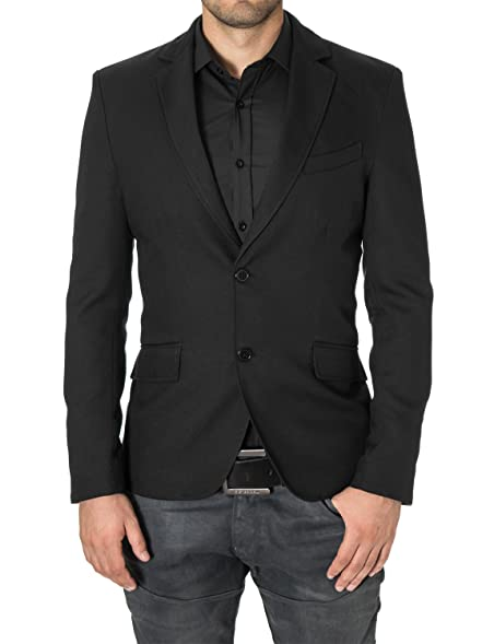 MODERNO Blazers for Men Slim Fit Sport Coat 2 Buttons (MOD14514B ...