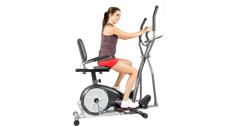 benefits of elliptical bike combo