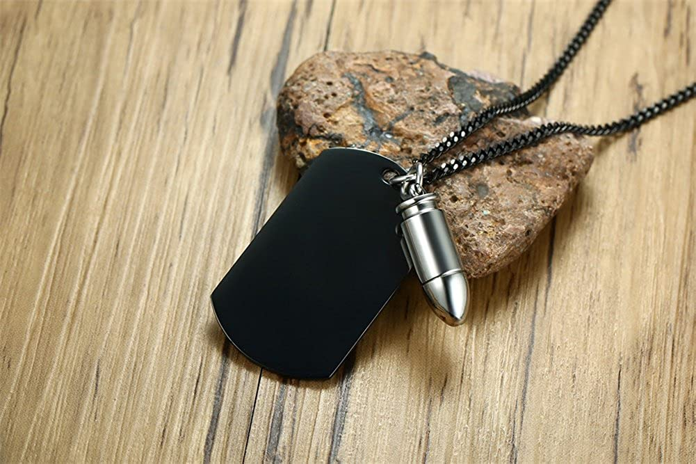30-06 Bullet Leather Jewelry Necklace Handmade with Personalized Message Inside the Bullet Made in the USA