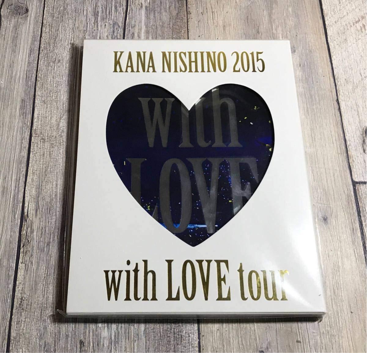 西野カナ with LOVE tour 2015 パンフレット ノート付き   B07MZ7M3NF