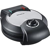 Severin WA 2103Gaufrier avec témoin lumineux de contrôle de cuisson Acier inoxydable brossé/noir