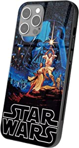 Star Wars iPhone case 12 Custom Glass for iPhone 12 Ultra-Thin TPU Silicone Protective Phone case for Women Men