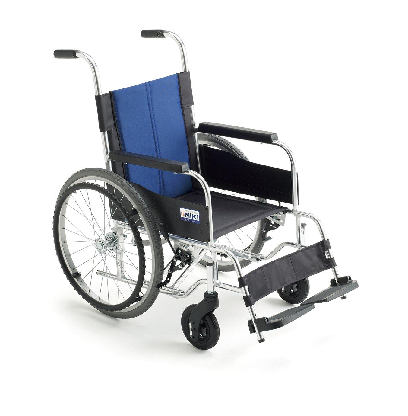MiKi(ミキ)アルミ製車椅子 BAL-0S B00KLPMZ2A