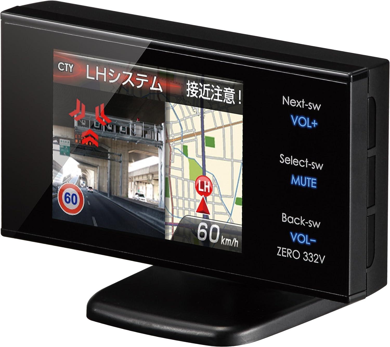 コムテック(COMTEC) 超高感度GPSアンテナ内蔵レーダー探知機 ZERO 332V B00425XP1A