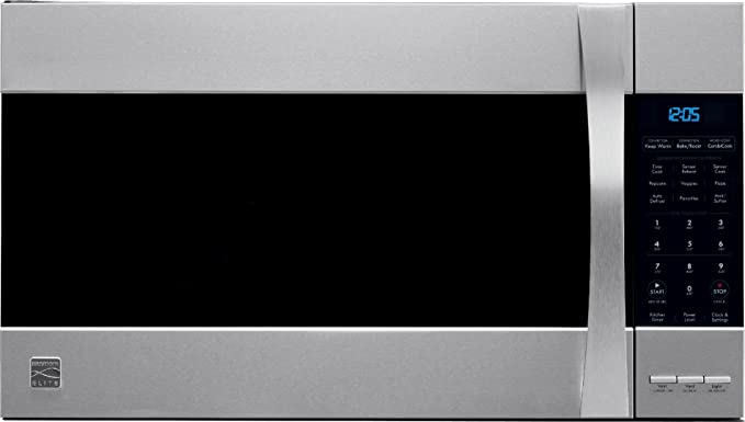 amazon com kenmore 80373 elite convection stainless steel microhood rh amazon com Kenmore Elite Microwave Convection Oven kenmore elite oven microwave combo manual
