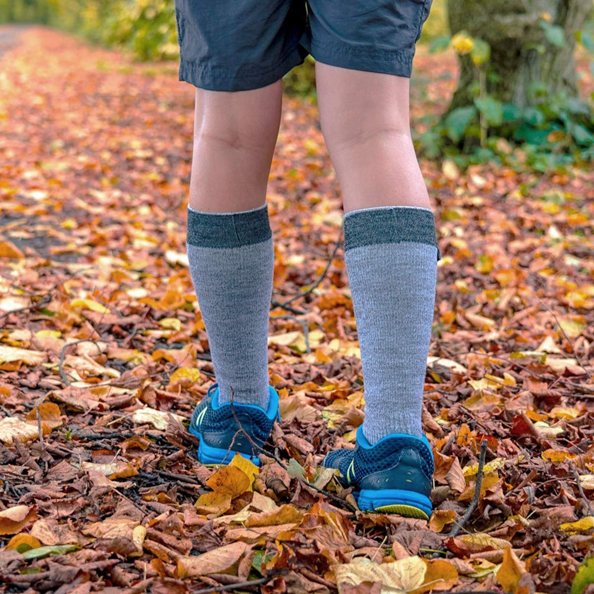 SealSkinz Waterproof All Weather Mid Length Chaussettes Mixte