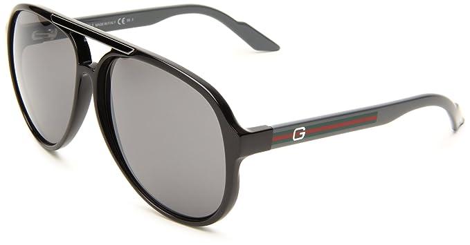Gucci Gafas de sol Para Hombre 1627/S - Q20/B8: Plomo/Gris ...