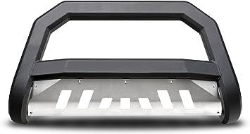 Armordillo USA 7170100 AR Series Bull Bar Fits 2005-2015 Toyota Tacoma Matte Black W//Aluminum Skid Plate